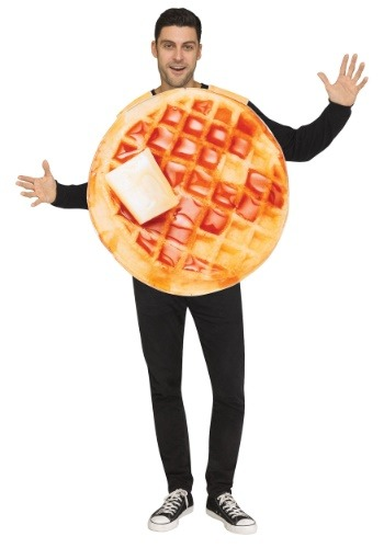Click Here to buy Waffle Costume Food Costumes for Adults from HalloweenCostumes, CDN Funds