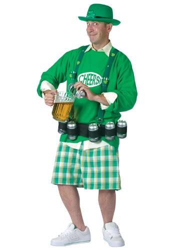 Cheers and Beers Costume - St. Patrick's Day Beer Costumes