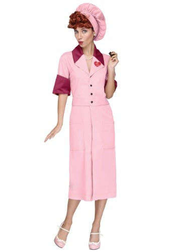 Click Here to buy Candy Factory Costume from I Love Lucy from HalloweenCostumes, CDN Funds