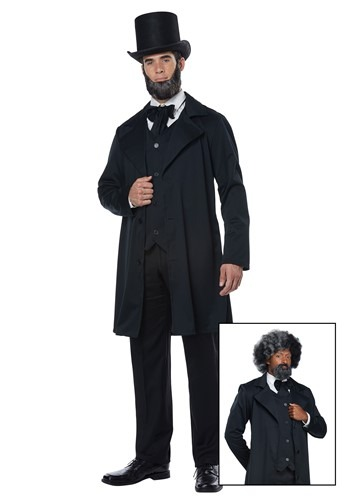 Adult Abraham Lincoln/Frederick Douglass Costume