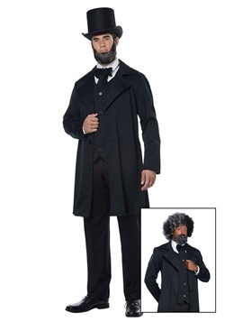 Adult Abraham Lincoln/Frederick Douglass Costume Update Main