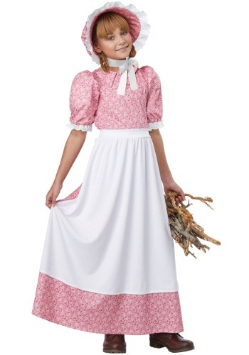 Click Here to buy Early American Girl Girls Costume from HalloweenCostumes, CDN Funds