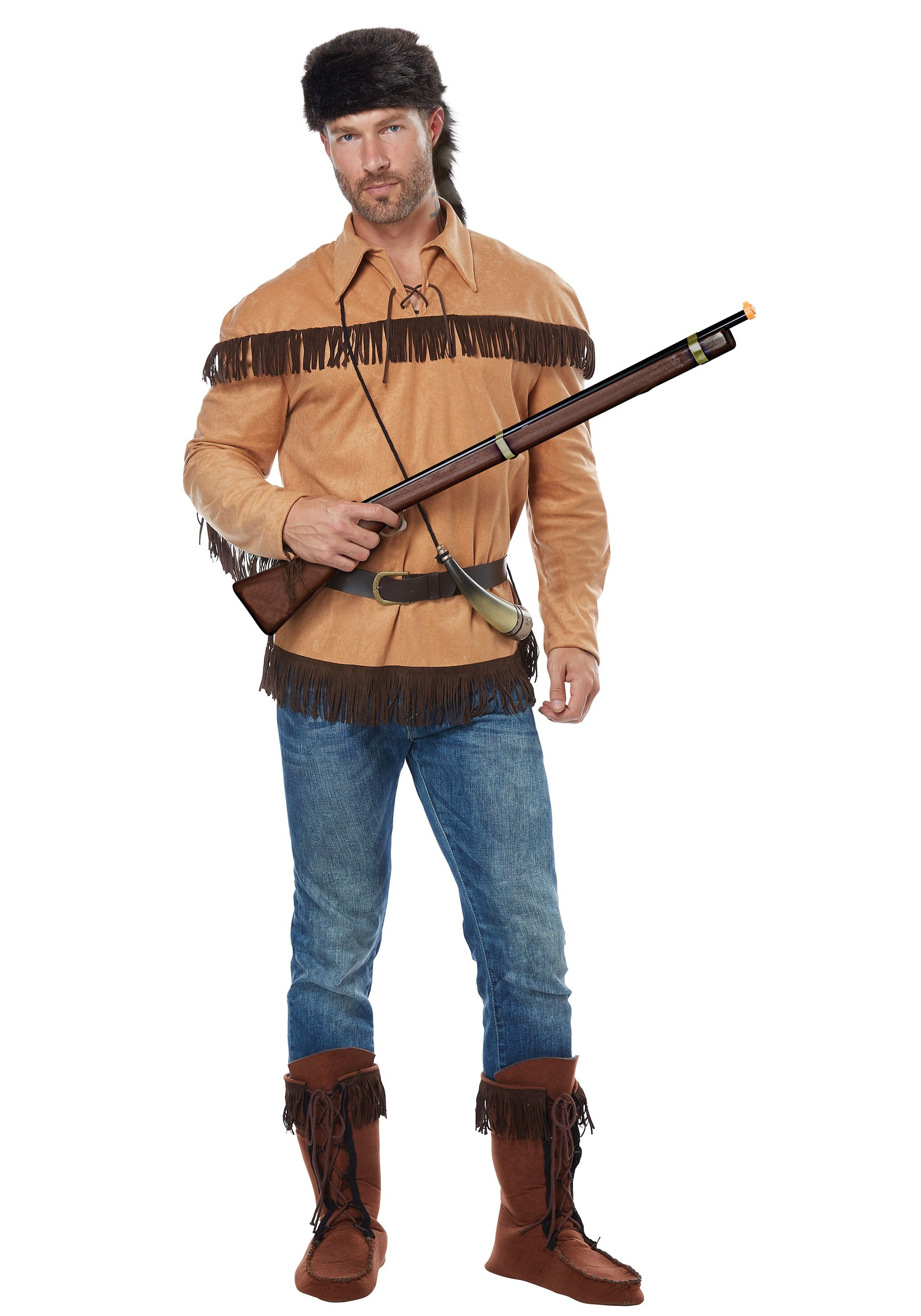 Frontier Boy//Davy Crockett Outfit Child Costume