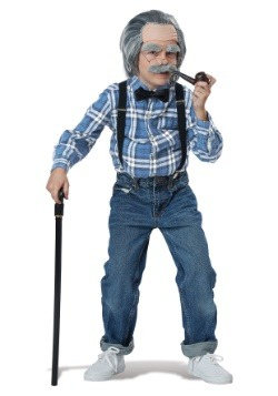 Boys Old Man Costume Kit