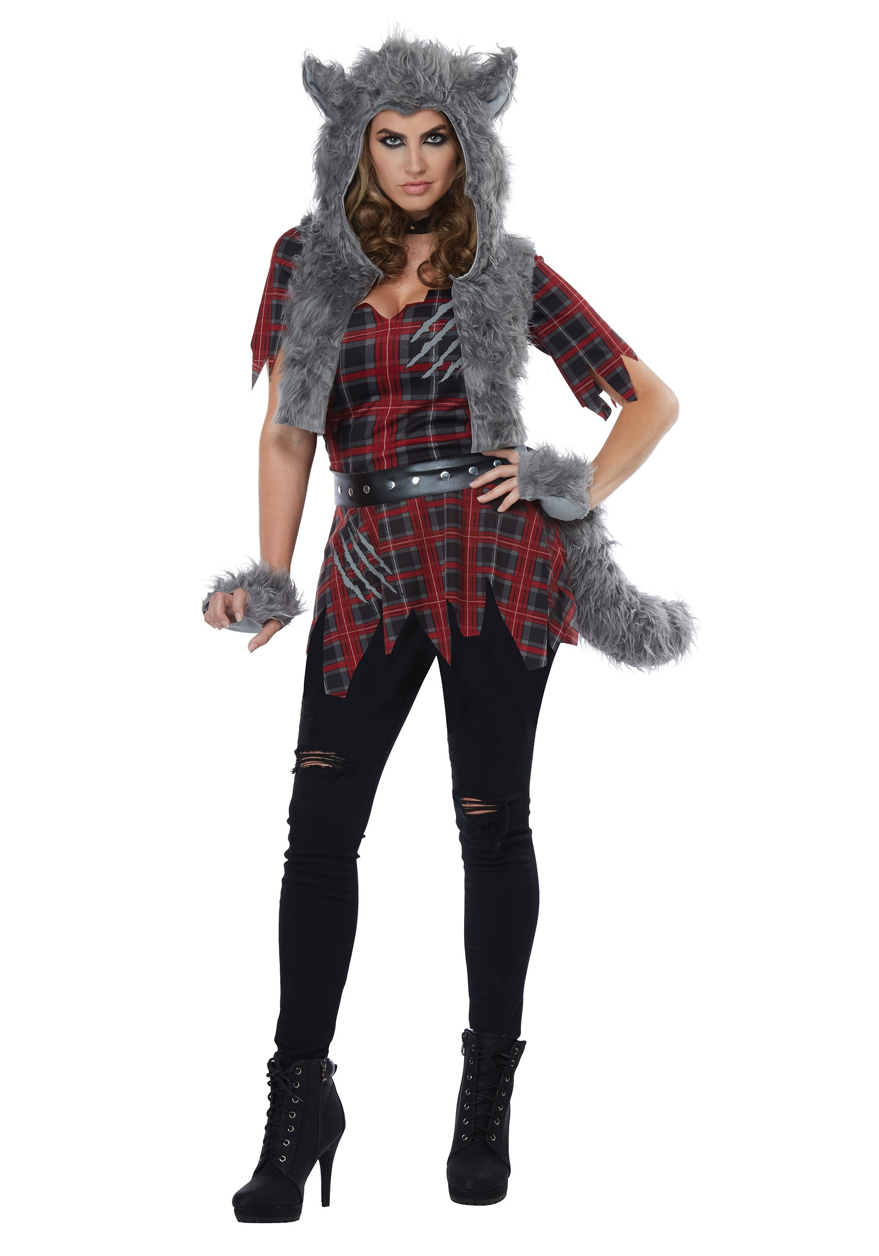 Womens She-Wolf Costume  sc 1 st  Halloween Costumes & She-Wolf Costume for Women
