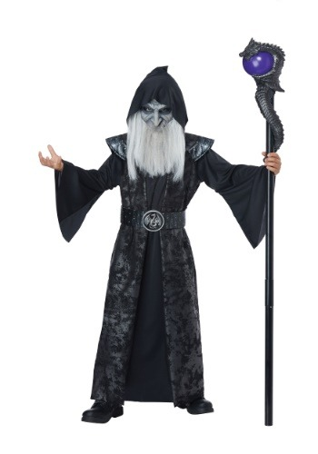 Click Here to buy Dark Wizard Costume for Kidsren from HalloweenCostumes, CDN Funds