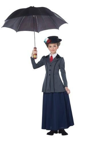 Girl's English Nanny Costume