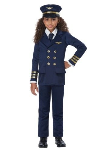 Kids Airline Pilot Costume