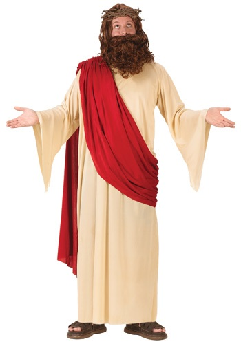 Click Here to buy Adult  Jesus Costume from HalloweenCostumes, CDN Funds