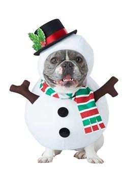 Dog Snowman Costume Update 1