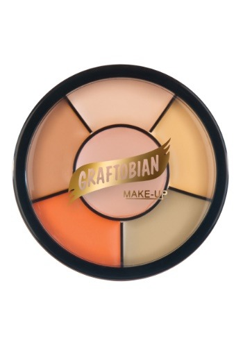 Light Tattoo Cover Up Makeup Wheel