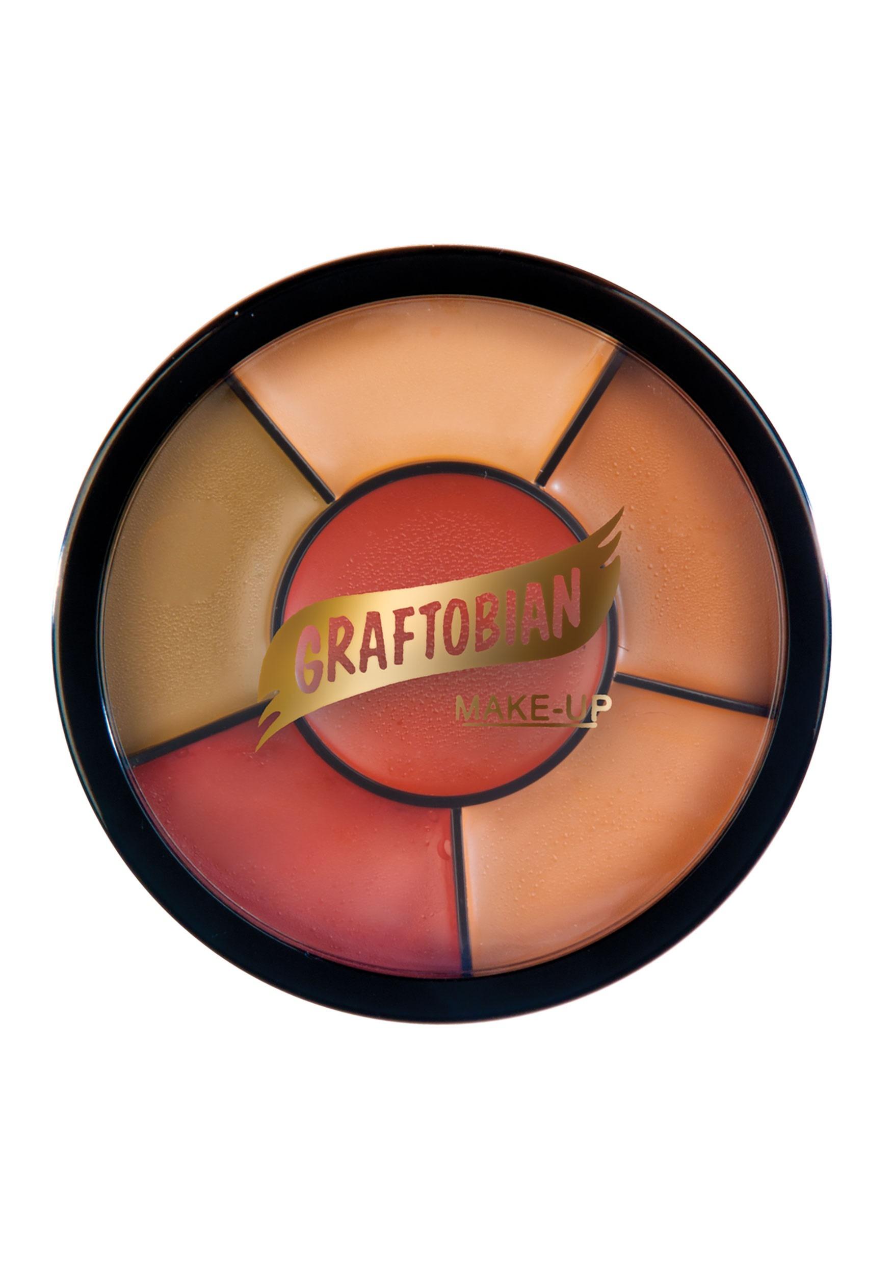 Graftobian dark tattoo cover up makeup wheel for Best tattoo cover up makeup