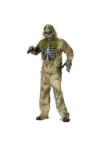 Click Here to buy Skeleton Zombie Costume from HalloweenCostumes, USA Funds & Shipping
