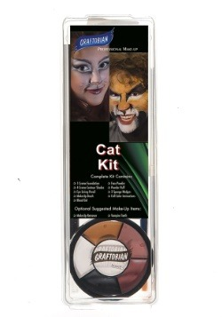 Deluxe Cat Makeup Kit