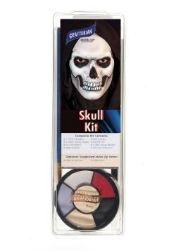 Deluxe Skull Makeup Kit