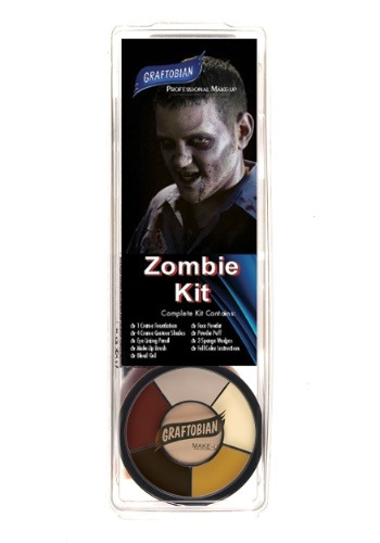 Graftobian Deluxe Zombie Make Up Kit