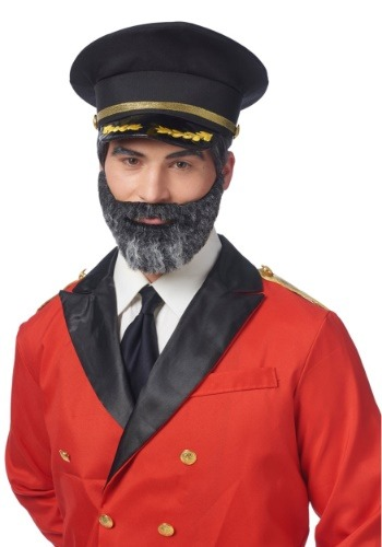 Mustache and Beard Captain Obvious