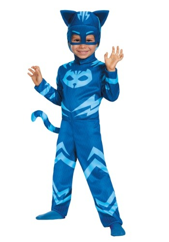 Child PJ Masks Classic Catboy Costume Update1
