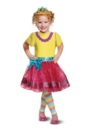Girls Deluxe Fancy Nancy Costume