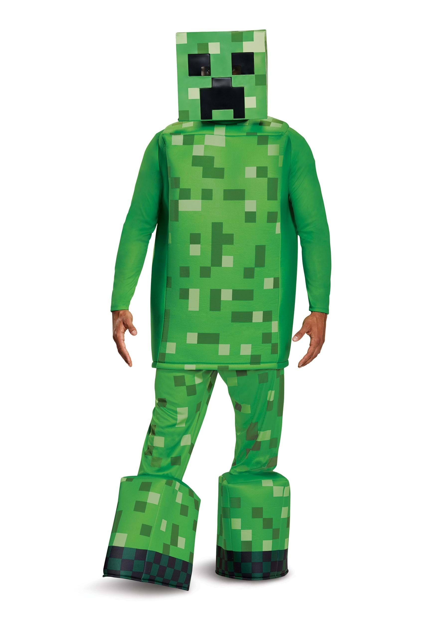 Minecraft prestige creeper costume - Minecraft creeper and steve ...
