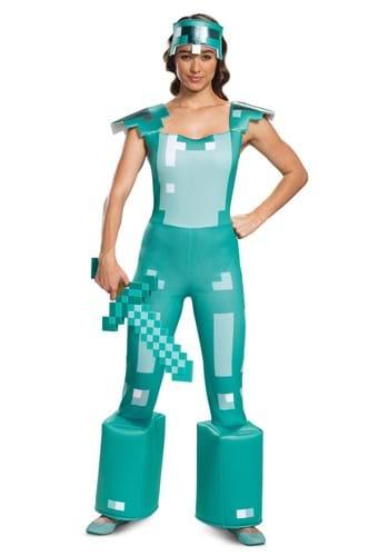 Minecraft Adult Female Armor Costume
