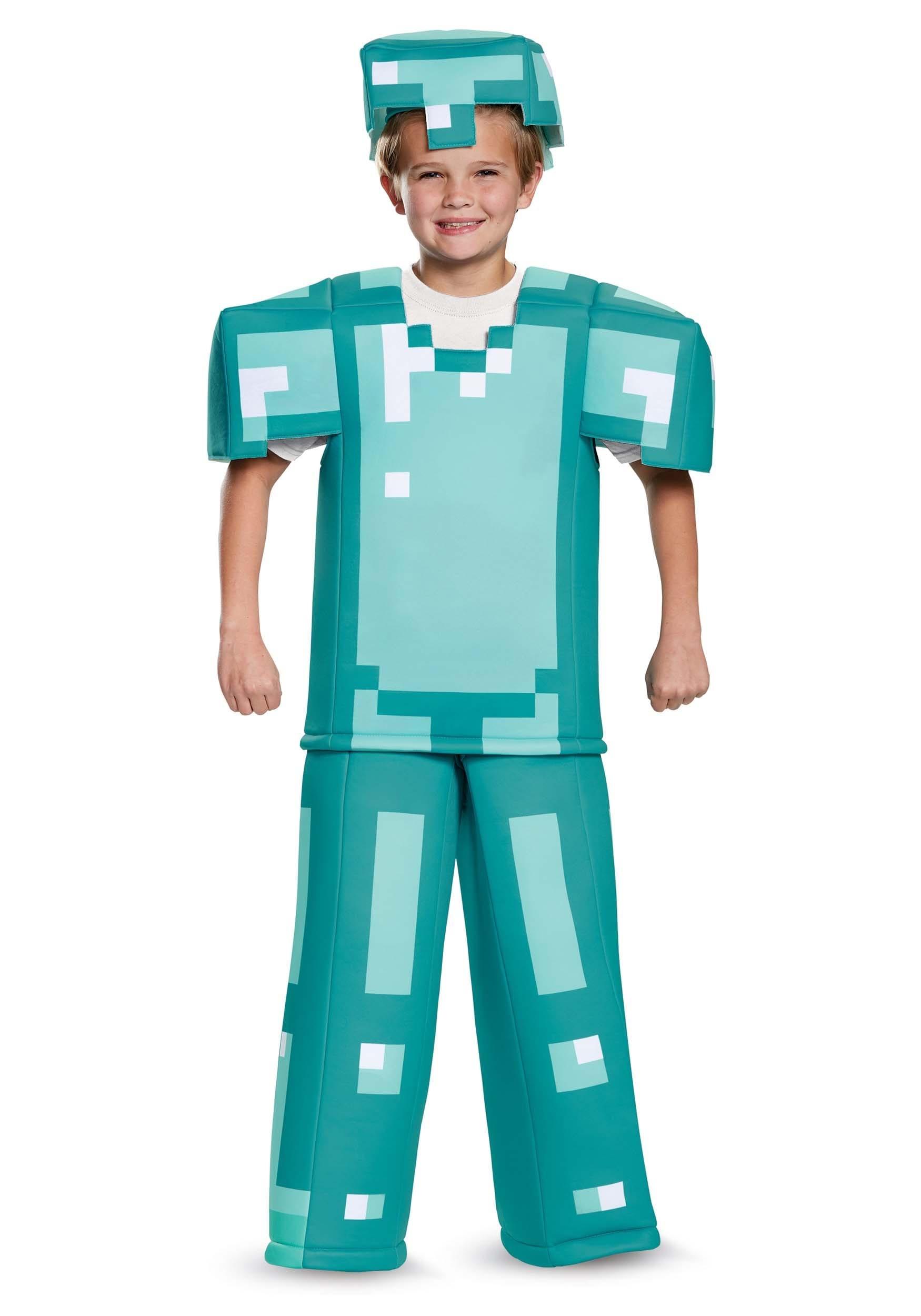 Prestige Minecraft Armor Costume for Kids d7e60b256dce4