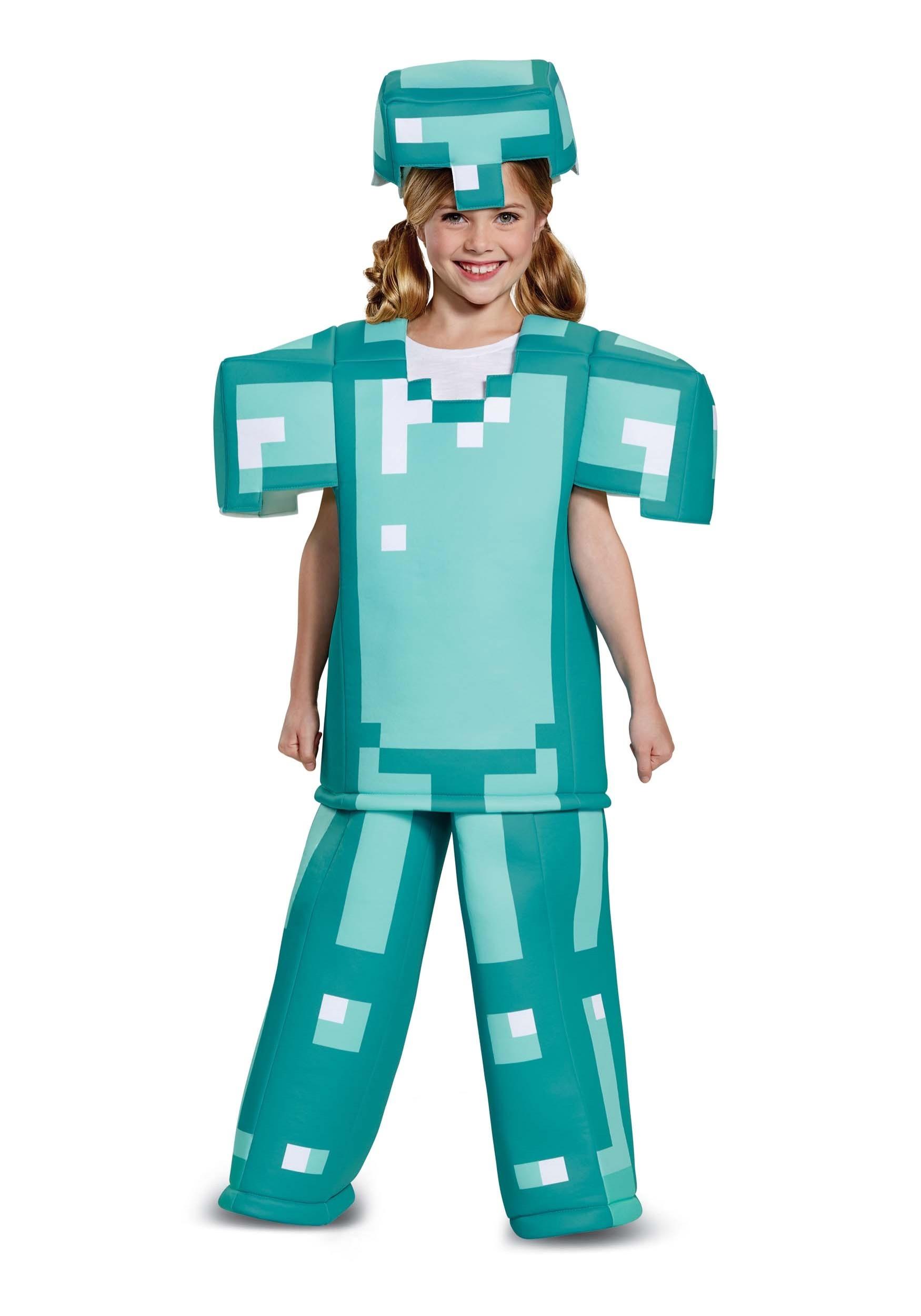 Prestige Minecraft Armor Costume For Kids