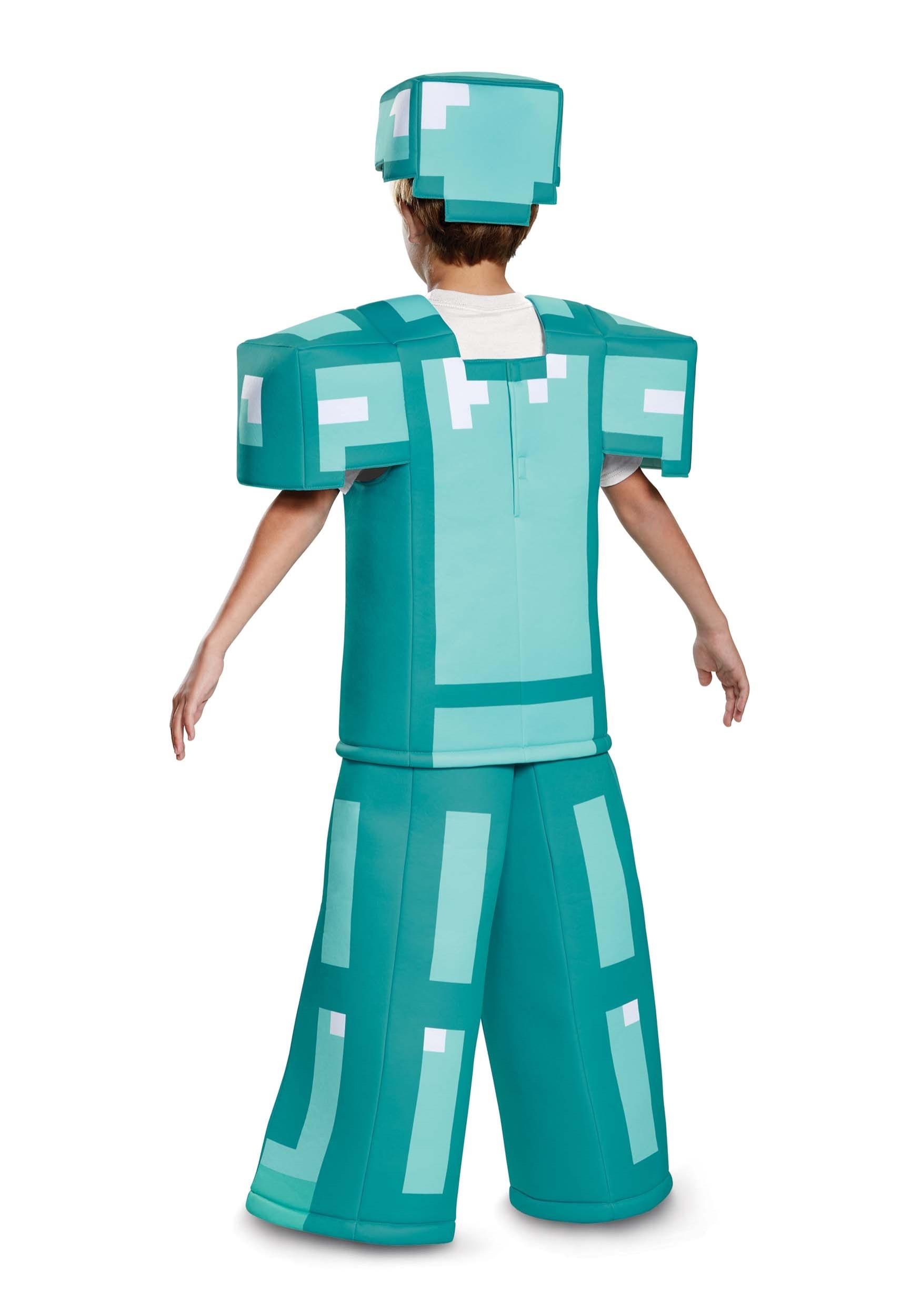 Prestige Minecraft Kids Armor Costume