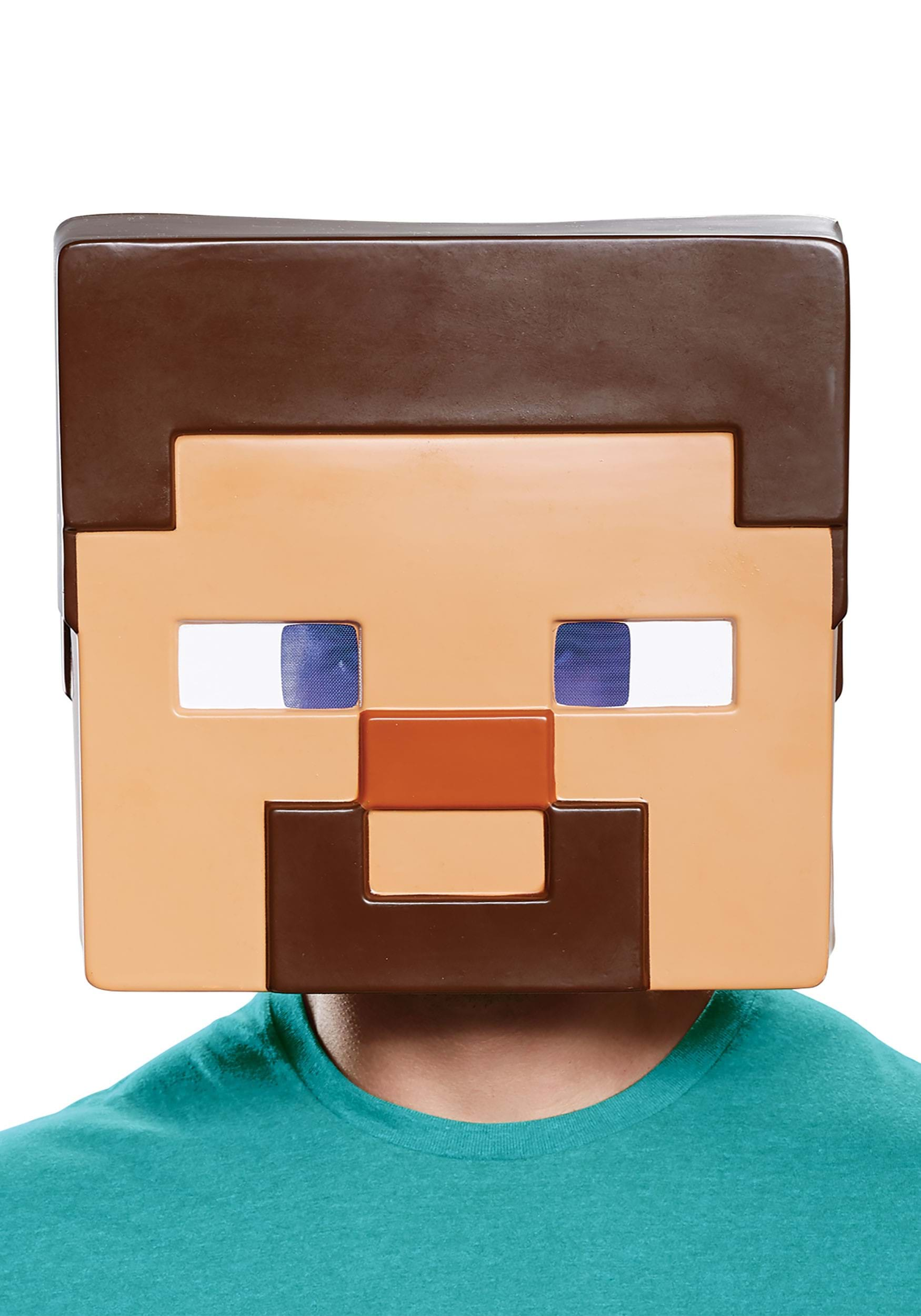 Adult Minecraft Steve Full Face Mask