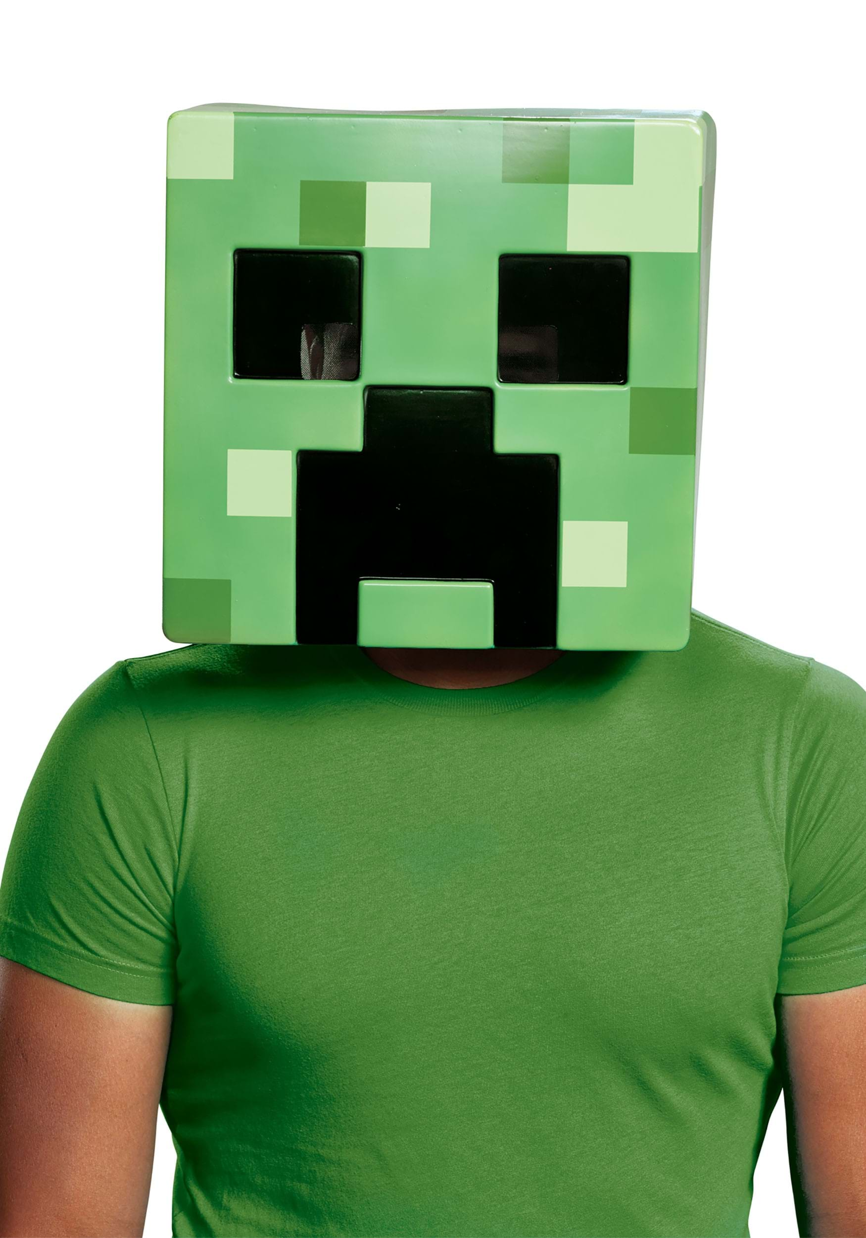 minecraft creeper mask for adults