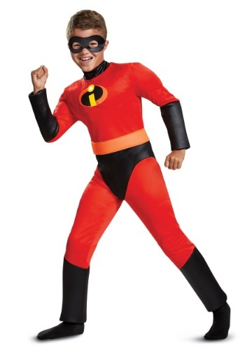Click Here to buy Disney Incredibles 2 Classic Dash Muscle Boys Costume from HalloweenCostumes, CDN Funds