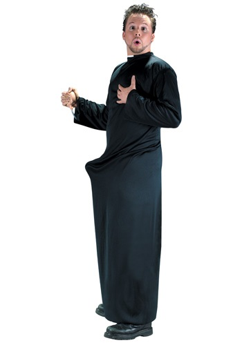 Click Here to buy Keep Up the Faith Priest Costume from HalloweenCostumes, USA Funds & Shipping