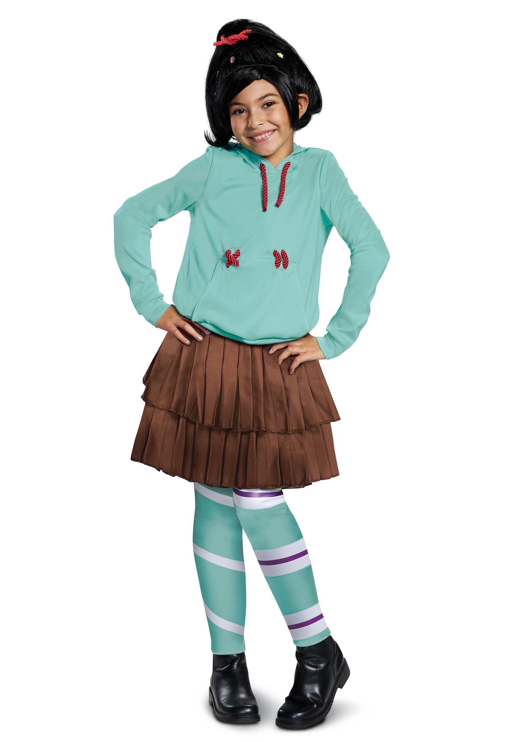 Wreck It Ralph 2 Deluxe Vanellope Costume for Girls