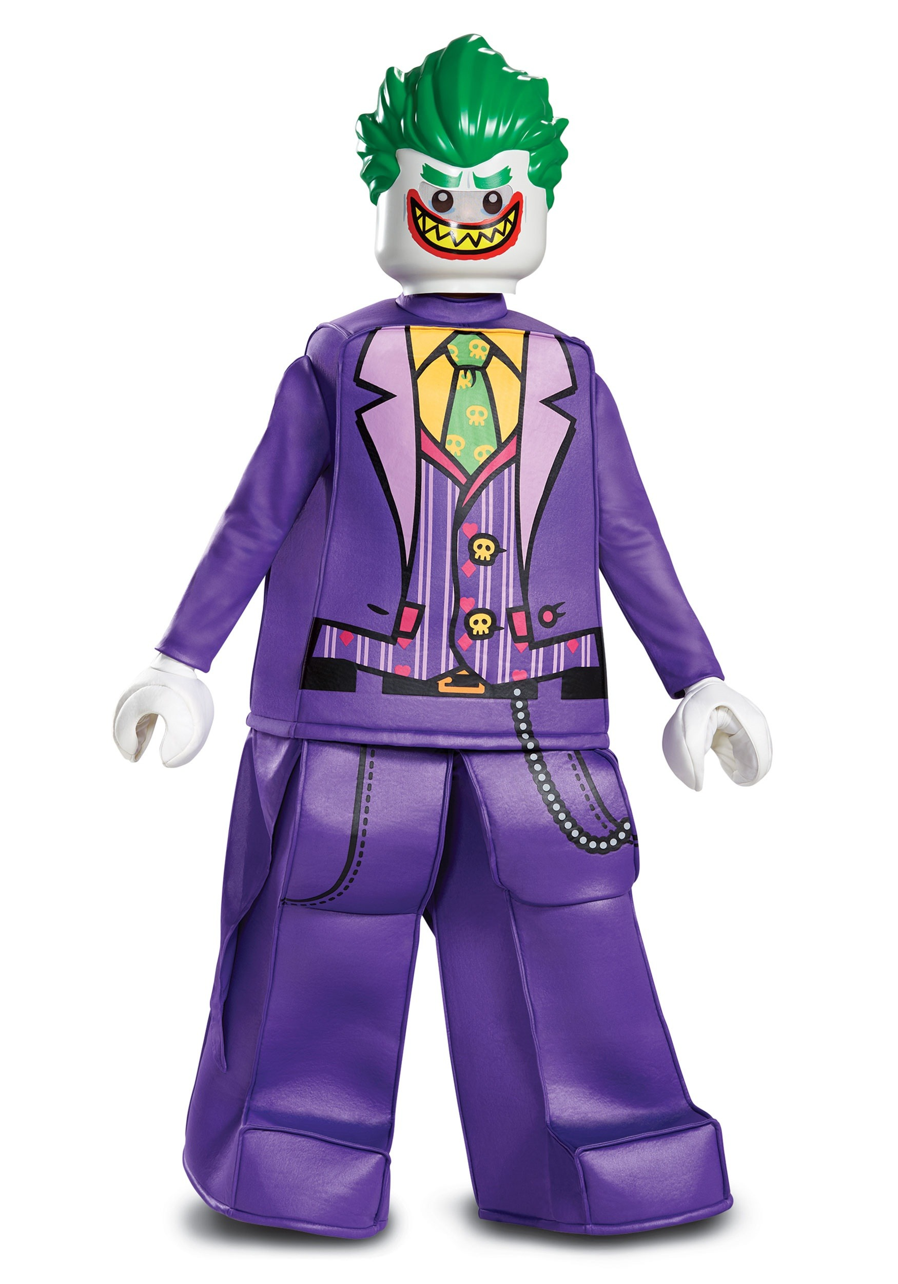 Batman Child Lego Prestige Joker Costume  sc 1 st  Halloween Costumes & Lego Batman Child Prestige Joker Costume