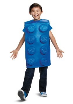 Lego Blue Brick Child Costume