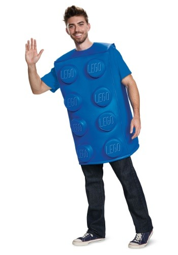 Adult LEGO Blue Brick Costume