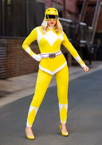 Power Rangers Women's Yellow Ranger Costume Update