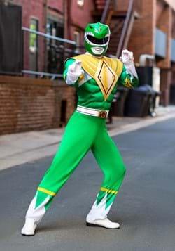 Power Rangers Men\u0027s Green Ranger Costume