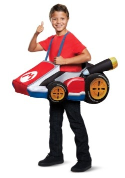 Super Mario Kart Kids Mario Ride In