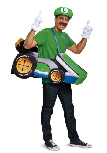Super Mario Kart Adult Luigi Ride In