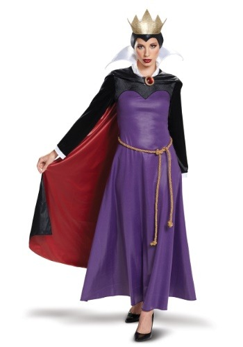 Click Here to buy Deluxe Evil Queen Womens Costume from HalloweenCostumes, CDN Funds