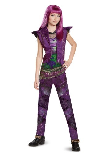 Click Here to buy Descendants 2 Classic Mal Girls Costume from HalloweenCostumes, USA Funds & Shipping