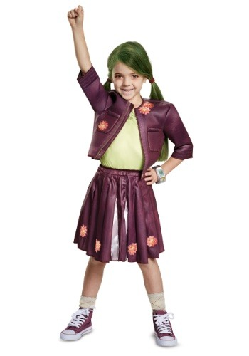 Click Here to buy Disney Zombies Classic Zoey Girls Costume from HalloweenCostumes, CDN Funds