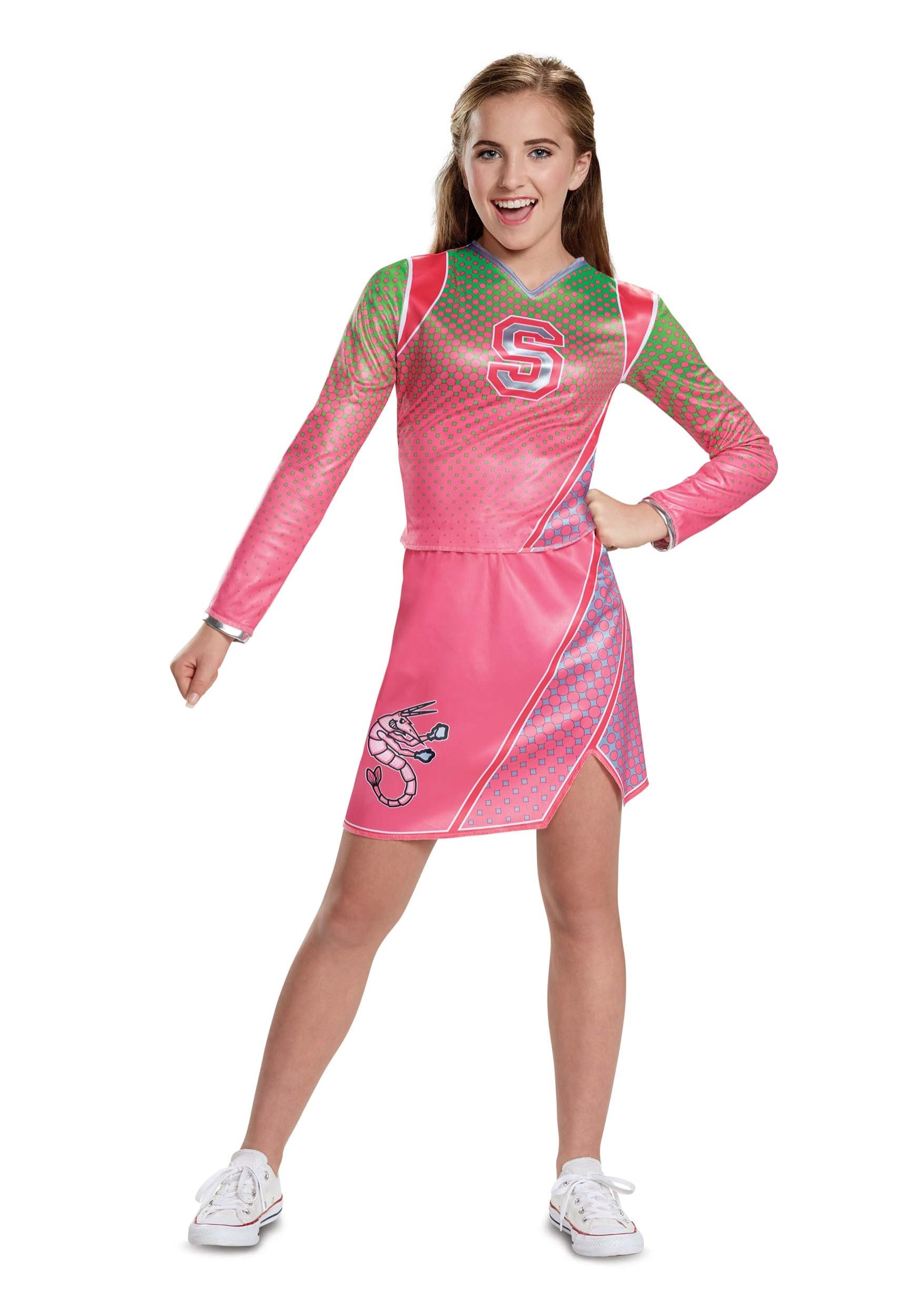 Disney Zombies Classic Addison Costume For Girls