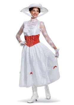 Deluxe Women's Mary Poppins Costume1