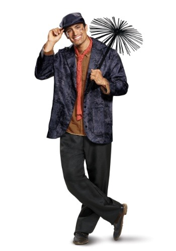 Click Here to buy Adult Deluxe Bert Costume from Mary Poppins from HalloweenCostumes, CDN Funds