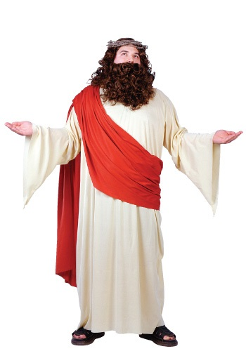 Plus Size Jesus Costume By: Fun World for the 2015 Costume season.