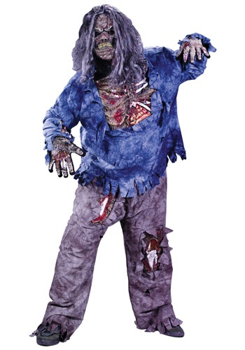 Plus Size Zombie Costume By: Fun World for the 2015 Costume season.