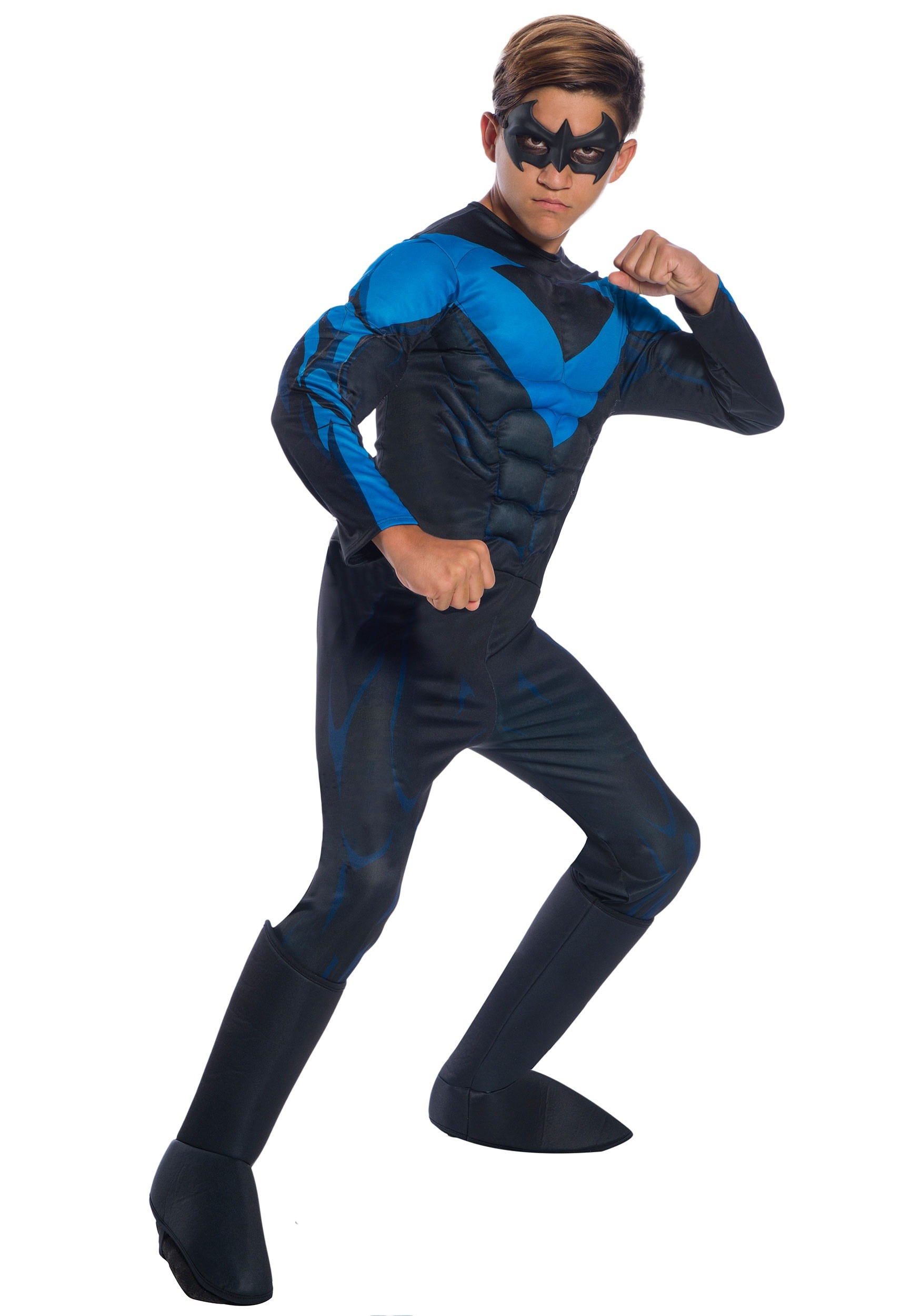 Nightwing Costume For Kids Child Nightwing Costum...