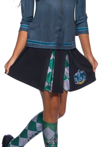 Child Slytherin Skirt Harry Potter4